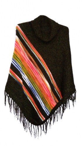 Alpaca-wool-poncho-with-Andean-linear-decorations-117