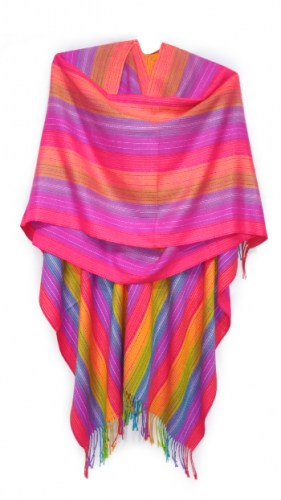 Long-andean-alpaca-fabric-poncho-135
