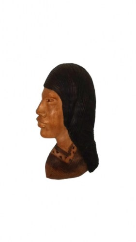 carved-wood-Andean-peasant-woman-286