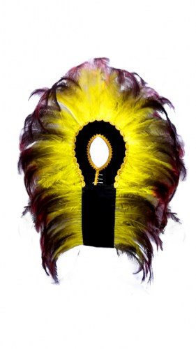 giant-crown-of-yellow-synthetic-feathers-464