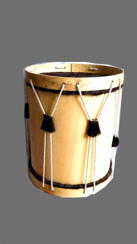 large-black-andean-leather-animal-bass-drum-671